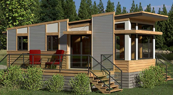 The Magnolia tiny house model