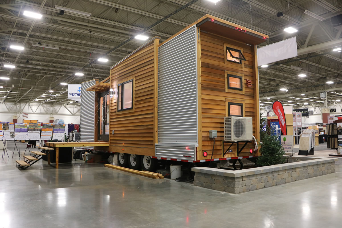 Tiny Home Designs: Dragonfly Unique Tiny House Model For Sale