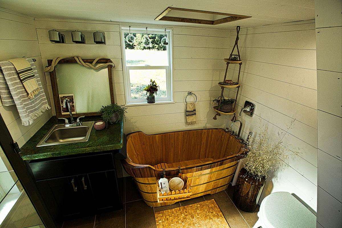 Schooner Unique Tiny House Model For Sale